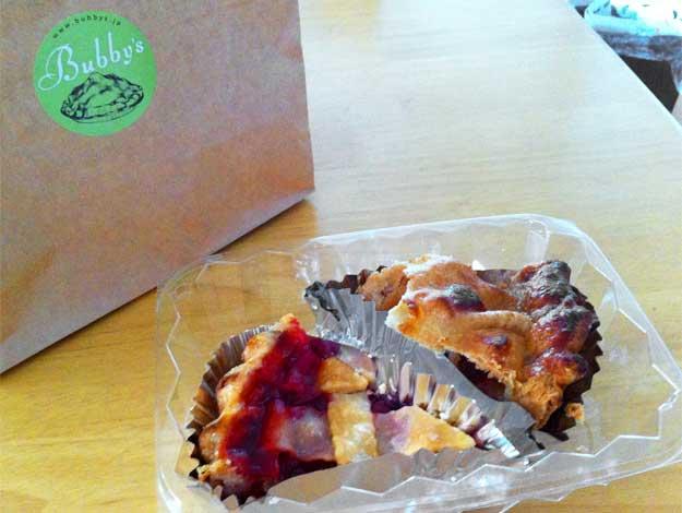 果実ごろごろ感がたまらない!バビーズのアップルパイ&チェリーパイを食べてみた